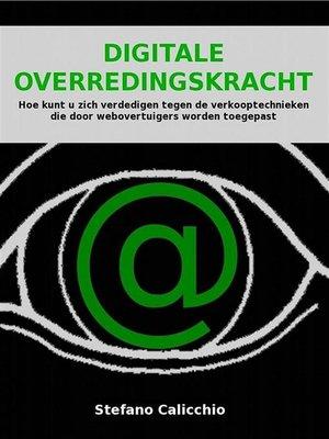 cover image of Digitale overredingskracht