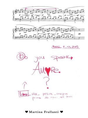 cover image of Do you speak Amore?