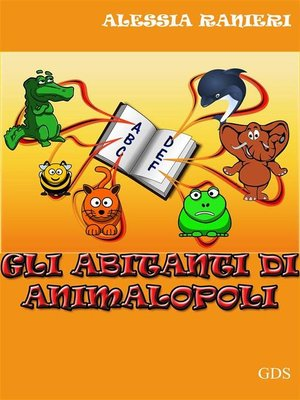 cover image of Gli abitanti di animalopoli