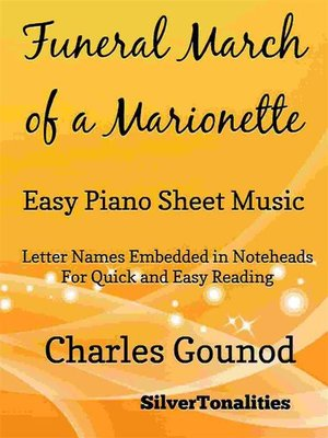 cover image of Funeral March of a Marionette Easy Piano Sheet Music