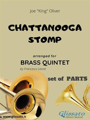 cover image of Chattanooga stomp--Brass Quintet set of PARTS