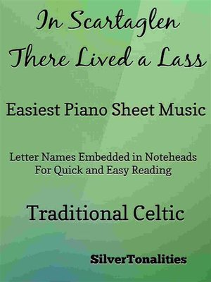 cover image of In Scartaglen There Lived a Lass Easiest Piano Sheet Music