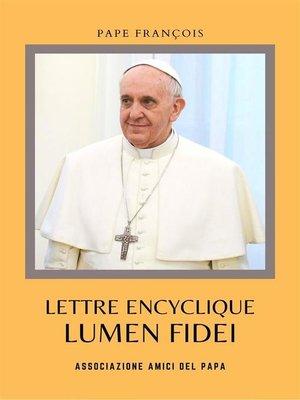 cover image of Lumen Fidei
