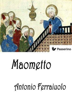 cover image of Maometto