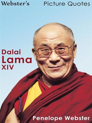 cover image of Webster's Dalai Lama XIV Picture Quotes