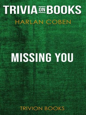 cover image of Missing You by Harlan Coben (Trivia-On-Books)