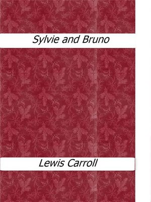 cover image of Sylvie and Bruno