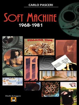 cover image of Soft Machine 1968-1981