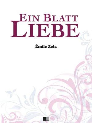 cover image of Ein Blatt Liebe