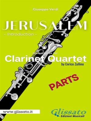 cover image of Jerusalem--Clarinet Quartet (parts)