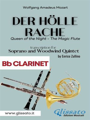cover image of Der Holle Rache--Soprano and Woodwind Quintet (Bb Clarinet)