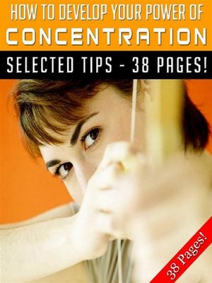 cover image of How to Develop Your Power of Concentration