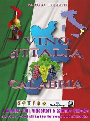 cover image of Vino d'Italia--Calabria
