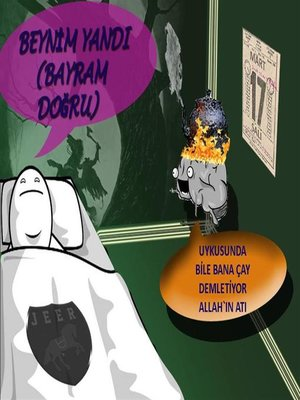 cover image of Beynim Yandı