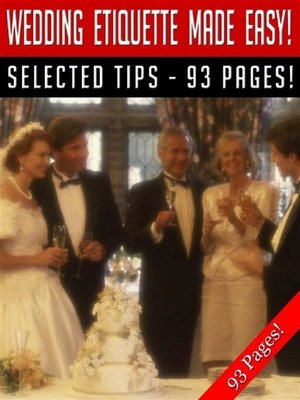 cover image of Wedding Etiquette Made Easy!