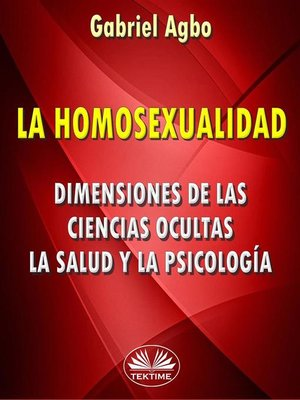 cover image of La Homosexualidad
