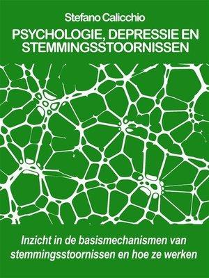 cover image of Psychologie, depressie en stemmingsstoornissen