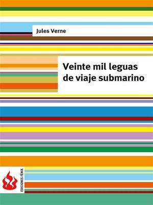 cover image of veinte mil leguas de viaje submarino (low cost). Edición limitada