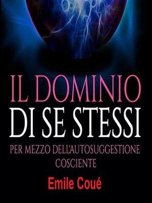 cover image of Il Dominio di se stessi