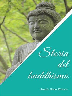 cover image of Storia del buddhismo