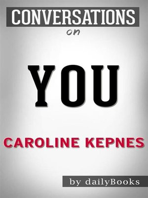 cover image of You--A Novel by Caroline Kepnes