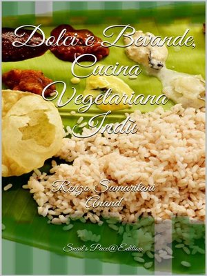 cover image of Dolci e Bevande, Cucina Vegetariana Indù