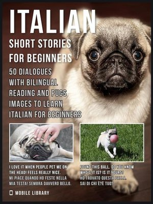 cover image of Italian Short Stories for Beginners