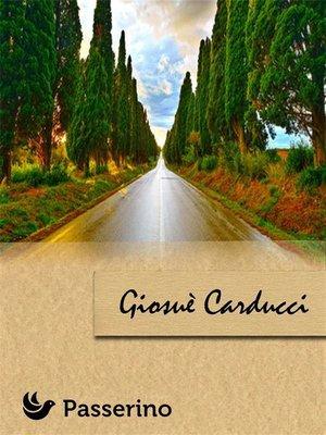 cover image of Giosuè Carducci