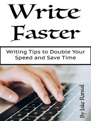 cover image of Write Faster