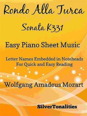 cover image of Rondo Alla Turca Sonata K331 Easy Piano Sheet Music