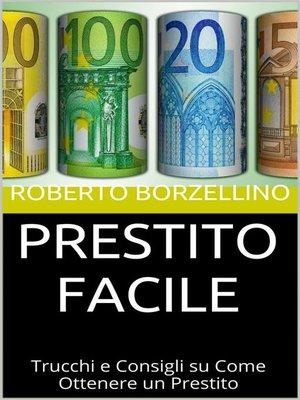 cover image of Prestito facile