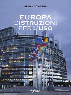 cover image of Europa (d)Istruzioni per l'uso