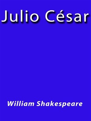 cover image of Julio Cesar