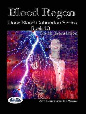 cover image of Bloed Regen