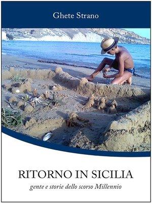 cover image of Ritorno in Sicilia