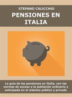 cover image of Pensiones en Italia