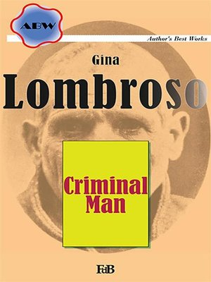 cover image of Criminal Man