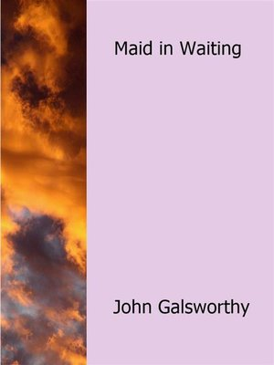 cover image of Maid in Waiting