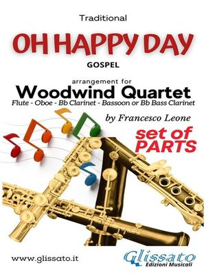 cover image of Oh Happy Day--Woodwind Quartet (parts)