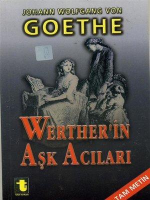 cover image of Werther'in Aşk Acıları