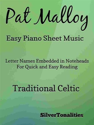 cover image of Pat Malloy Easy Piano Sheet Music