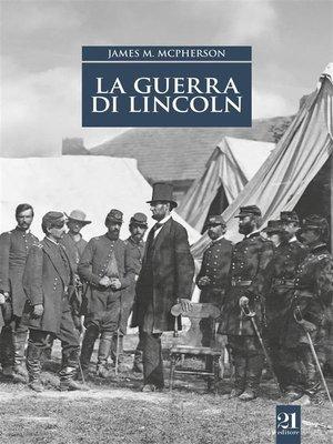 cover image of La guerra di Lincoln