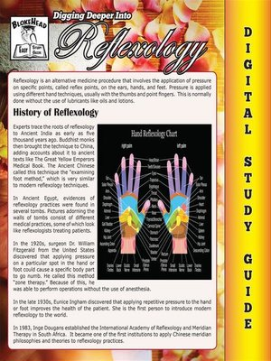 cover image of Reflexology (Blokehead Easy Study Guide)