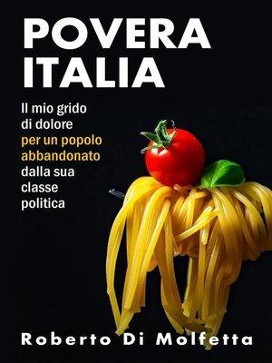 cover image of Povera Italia