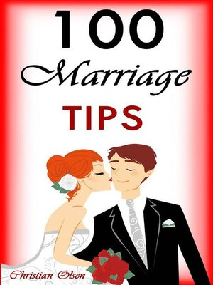 cover image of 100 Marriage tips