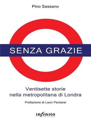 cover image of Senza grazie