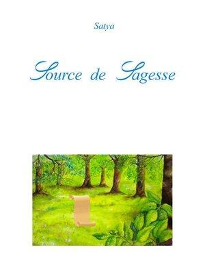 cover image of Source de Sagesse