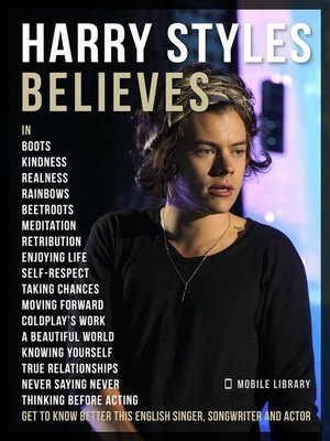 cover image of Harry Styles Believes--Harry Styles Quotes and Believes