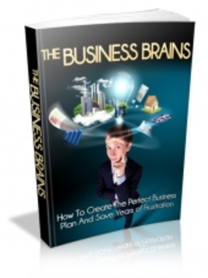cover image of The Business Brains