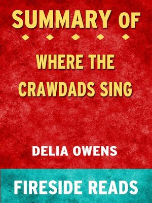 cover image of Where the Crawdads Sing by Delia Owens